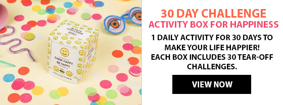 30 Day Challenge Activity Box for Happiness