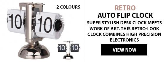 Retro Auto Flip Clock