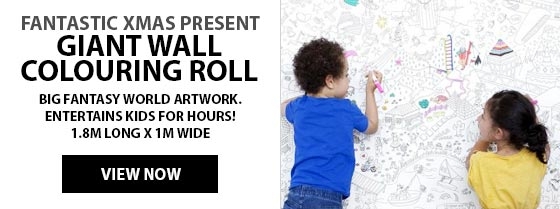 Giant Wall Colouring Roll