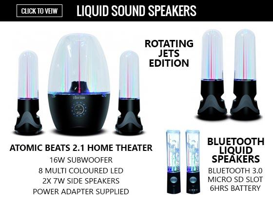 Liquid Sound Speakers