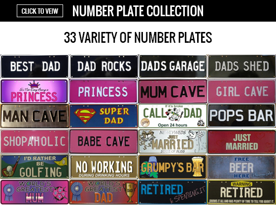 Number Plate Collection