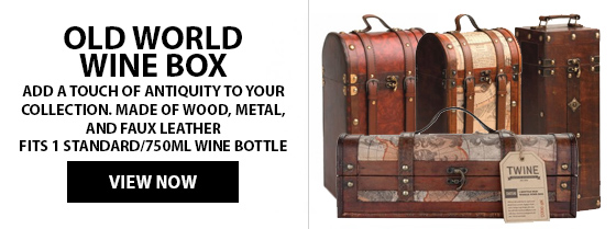 Old World Wine Boxes