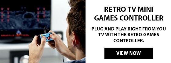 Retro Game Controller For TV