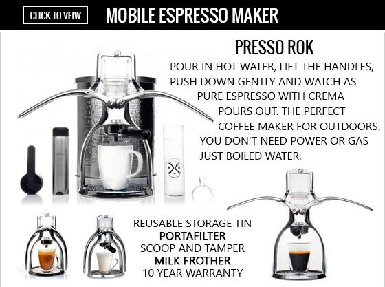 ROK Mobile Espresso Maker