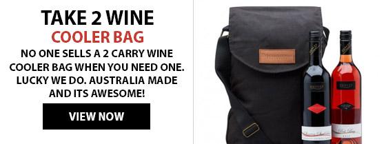 Take 2 Wine Cooler Bag