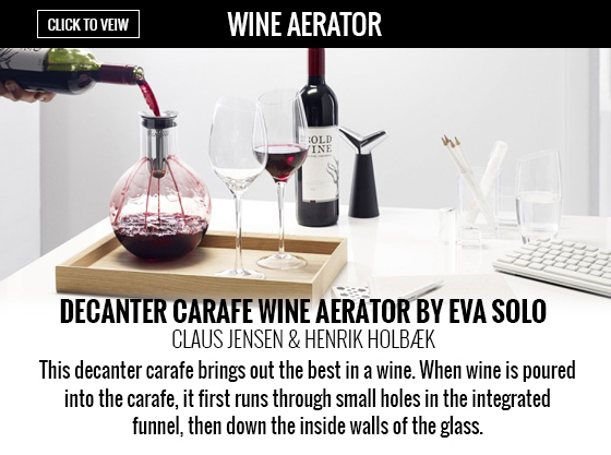 Decanter Carafe Wine Aerator by Eva Solo