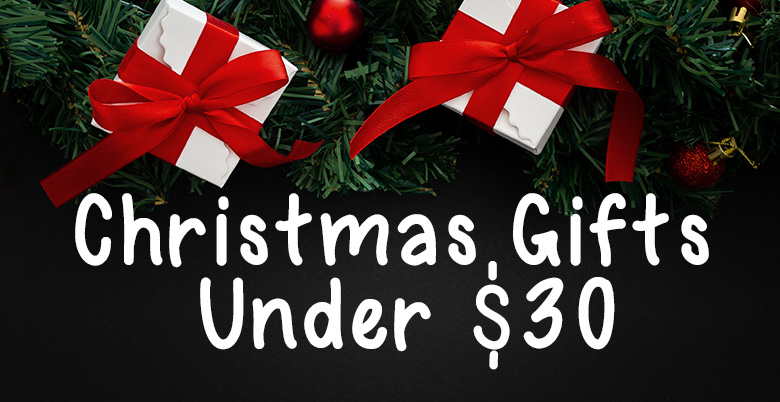 Christmas Gifts Under $30